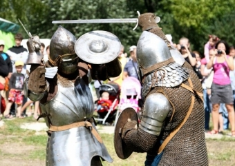Fight of Livonian Order Knights