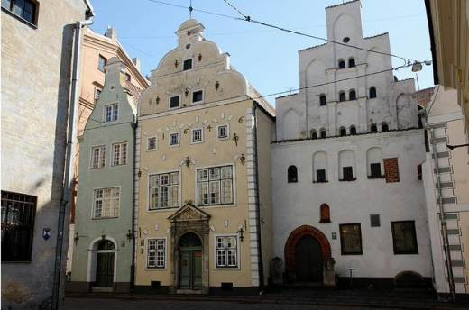 The Oldest Living House Complex  in Riga